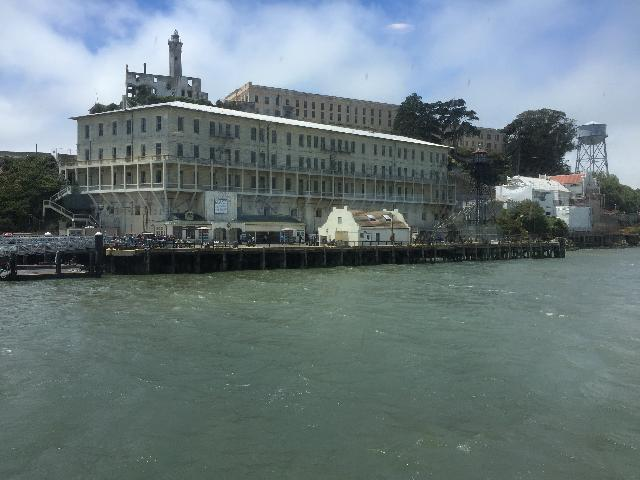 Alcatraz Island from the San Francisco Bay Cruise