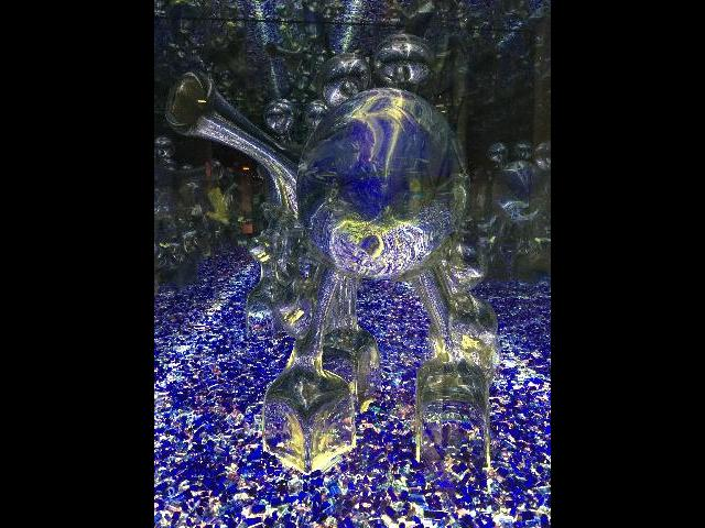 glass art at Corning Glass Museum
