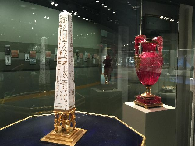 glass art at Corning Glass Museum