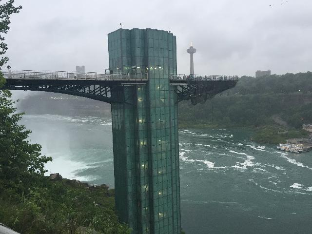 Elevator for Maid of the Mist ride :)