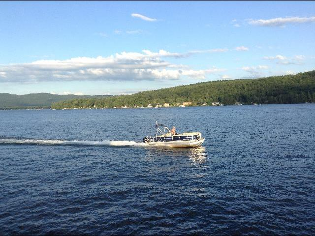 I love New York.. Magnificent view of Lake George