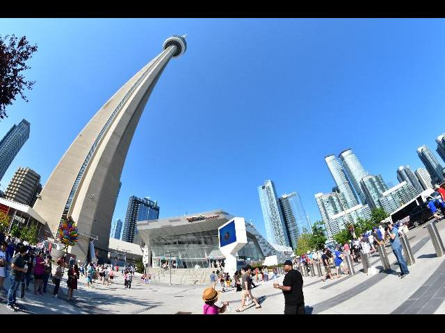CN Tower - At a different perspective