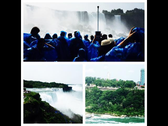 Collage of maid of the mist