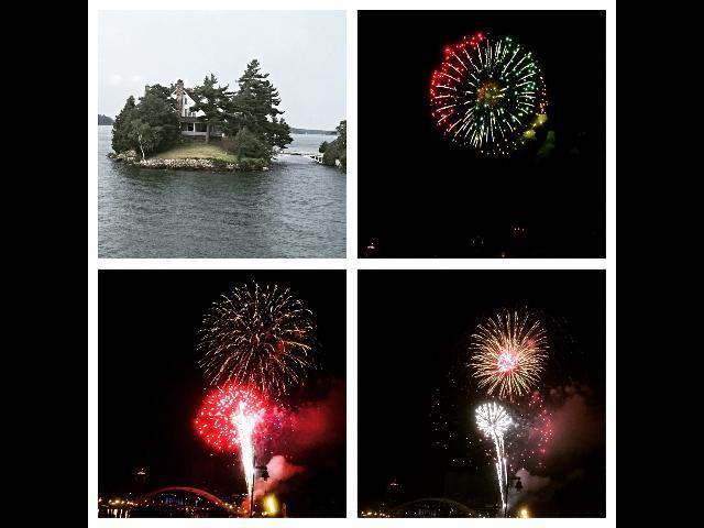Thousand island/Rochester fireworks