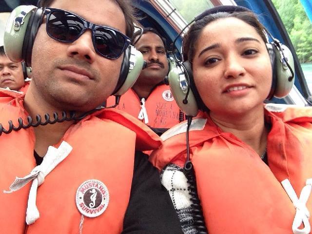 Jet boat ride Superb!!!