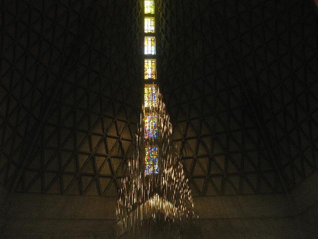inside a church, in San Francisco