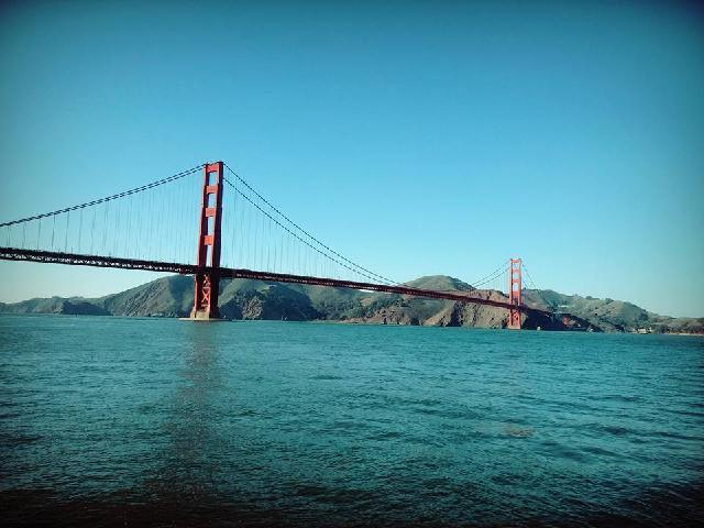 The tour guide took us the exact appropriate place from where we could get the best view and pictures of this marvelous Golden Gate.