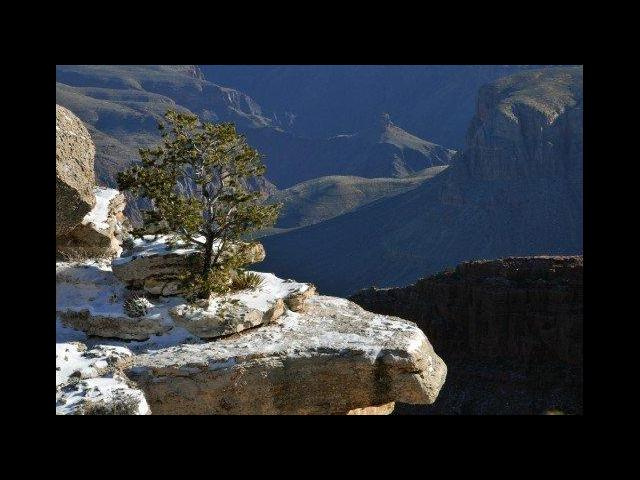 Grand Canyon with some snow