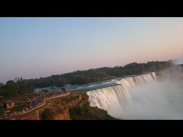 Naigara Falls view from the Bridge