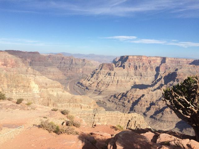 At west rim grand canyon