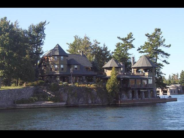 Beautiful house in an island