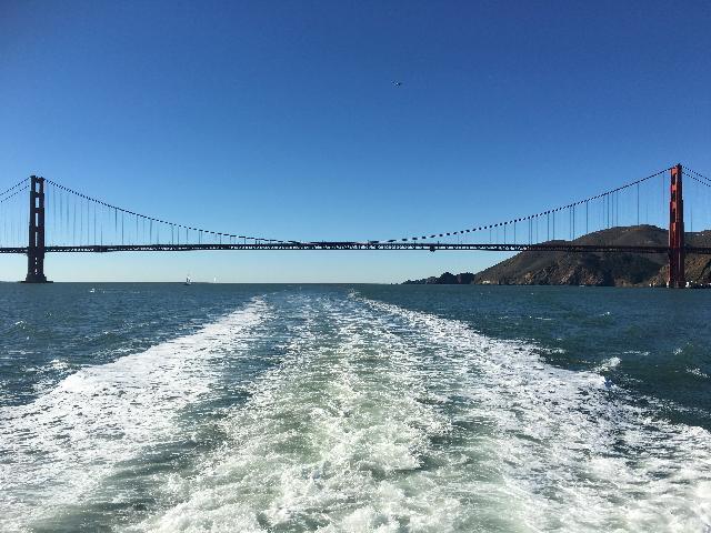 Bay Cruise below the Golden Gate