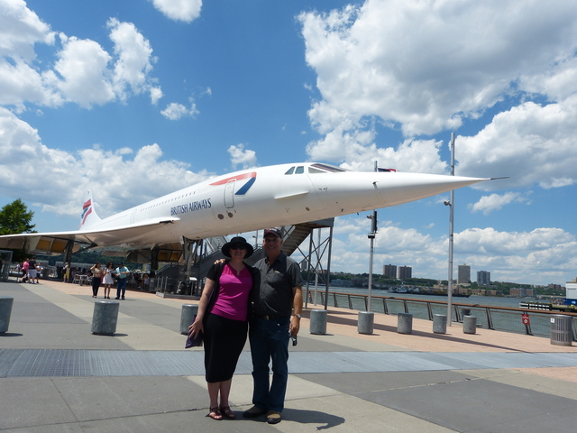 Concord at USS Intrepid