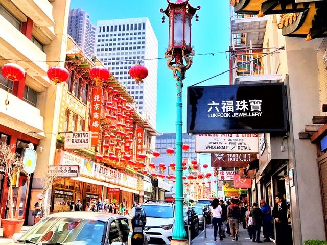China town Sanfrancisco