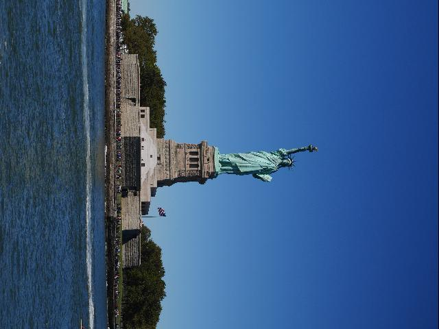 Status of Liberty, around Ellis Island
