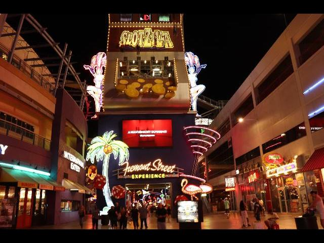 Fremont street _Night tour