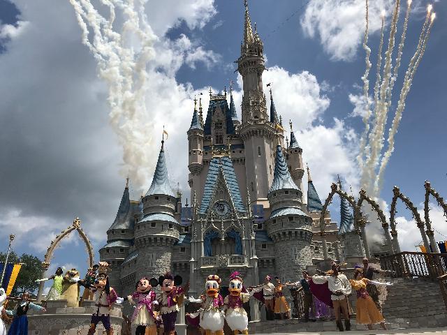 Magic Kingdom Let the Magic Begin