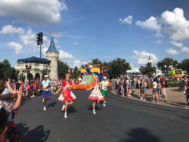 Magic Kingdom dance party