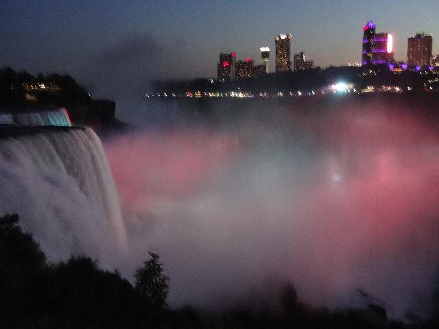 Night View - Niagara Falls