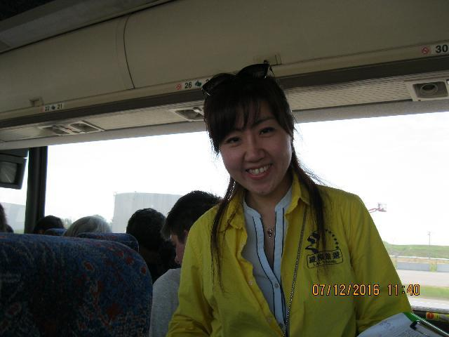 Our Tour Guide - Emily