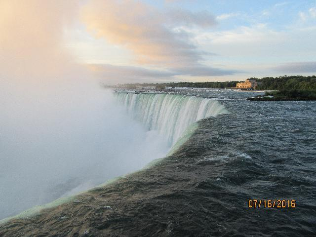 Niagara Falls from Canada Side (Close view)