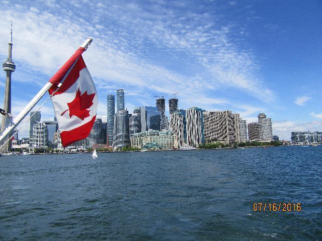Toronto City from Cruise