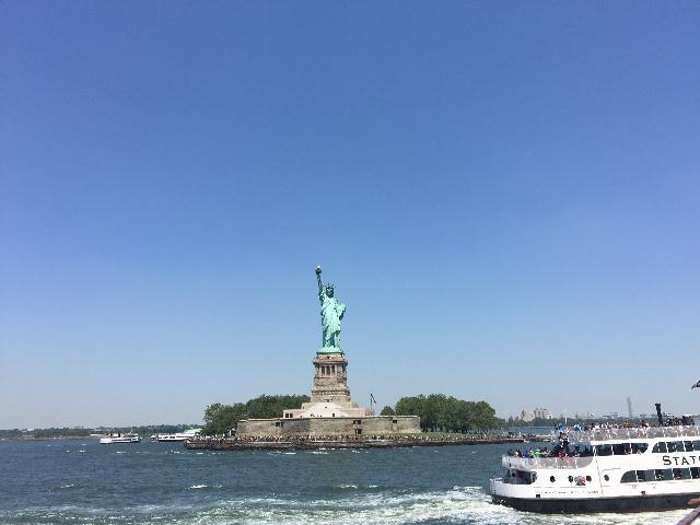 Liberty Statute from Hudson river cruise