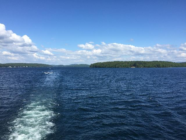Lake Winnipesaukee cruise