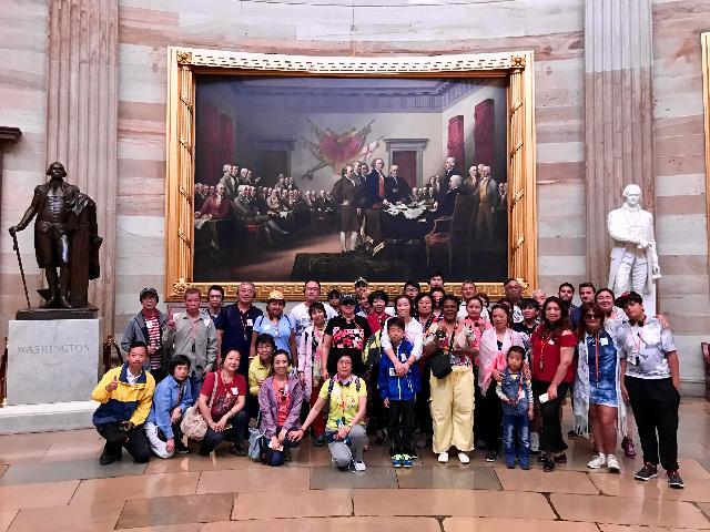 Washington Tour Group June 27th and 28th, 2017