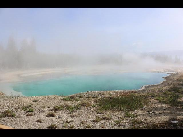 Hot Springs -Prismatic View-YellowStone National Park