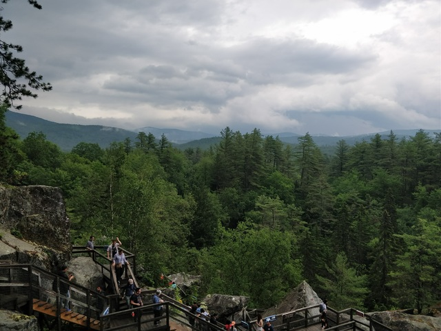 View from The Flume Hike