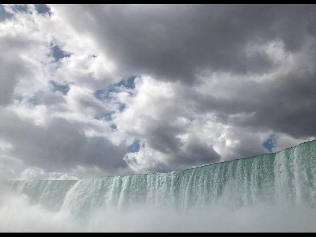 on the Maid of the Mist tour