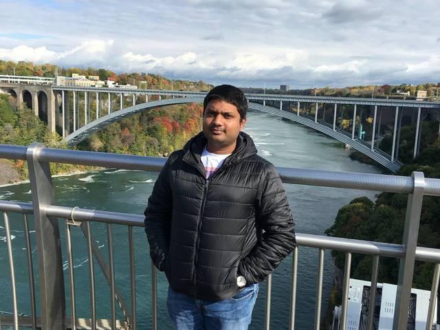 Niagra falls bridge