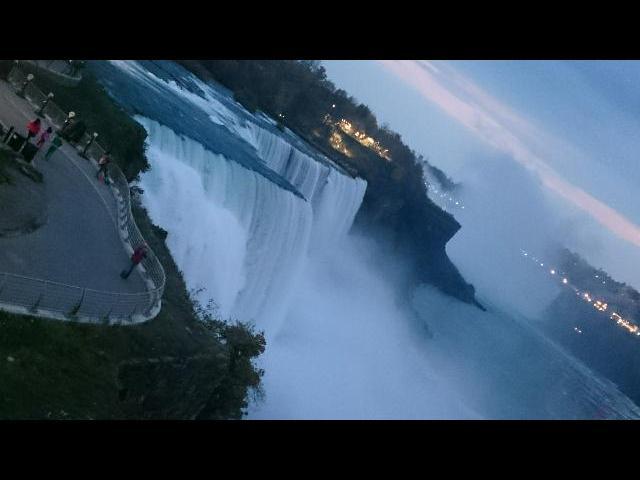Niagara Falls Evening View