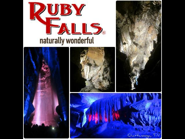 Located on Lookout Mountain, Ruby Falls is America's deepest commercial cave and largest underground waterfall.
