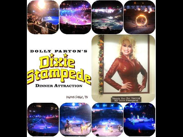 Dolly Parton's Dixie Stampede in Pigeon Forge. Tennessee