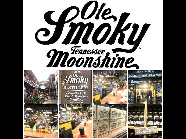 Ole Smoky Tennessee Moonshine is a corn whiskey distillery in Gatlinburg, Tennessee.