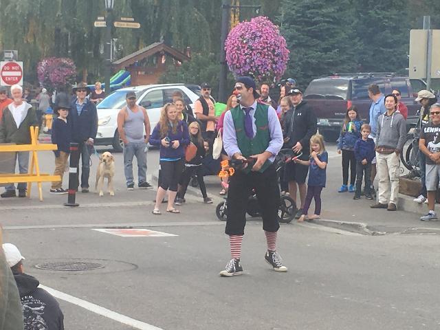 1st week of Oktoberfest in Leavenworth