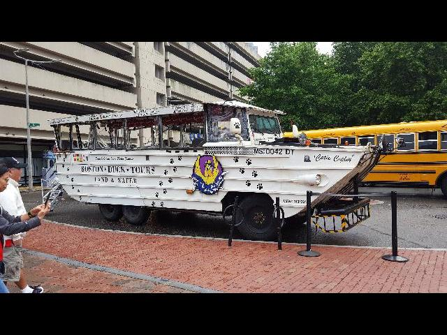 Duck bus Amphibious vehicle Boston