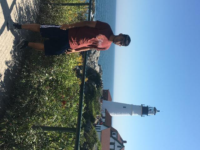 Cousin at the Light House
