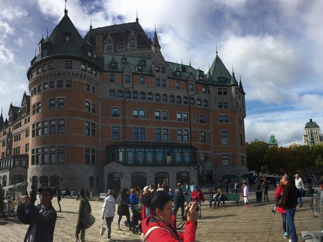 Le ch鈚eau frontenac, Quebec