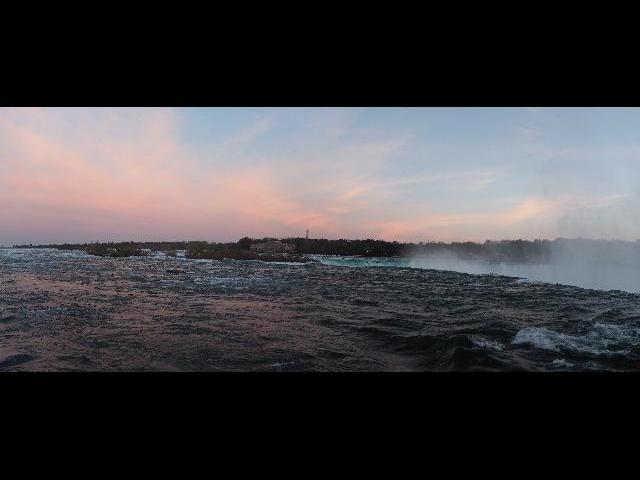 Niagara Falls at sunset