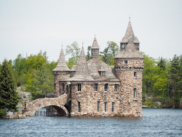 Castle in the Thousand Islands