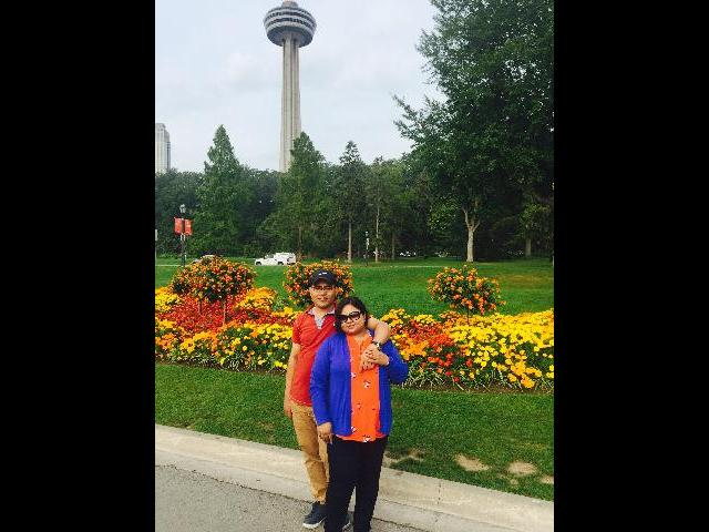 Skylon tower in the back