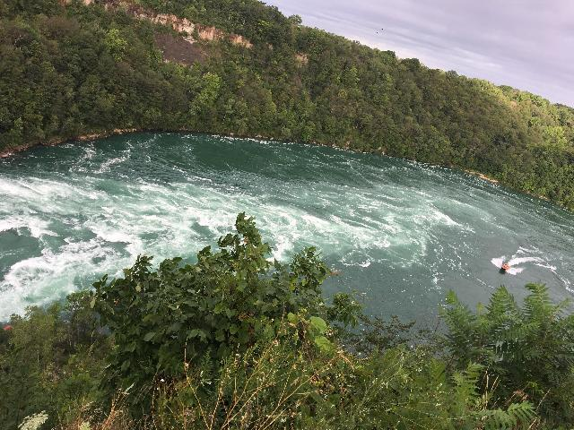 water formation at Whirlpool State Park