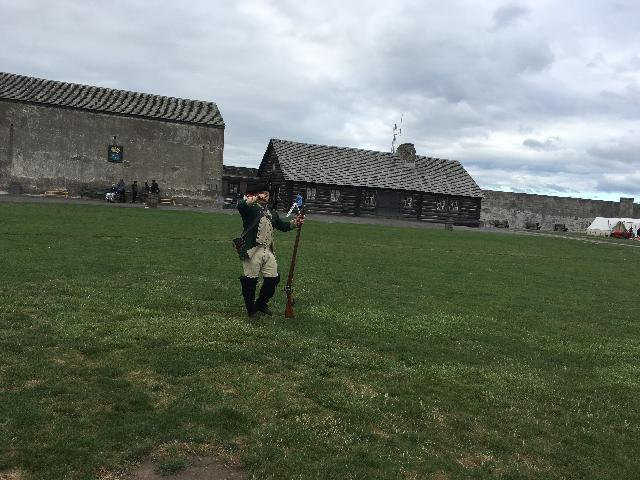 historic Old Fort Niagara.