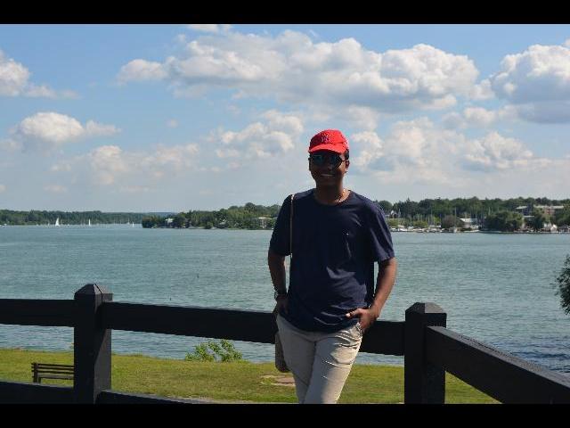 Posing at Niagara Old Fort