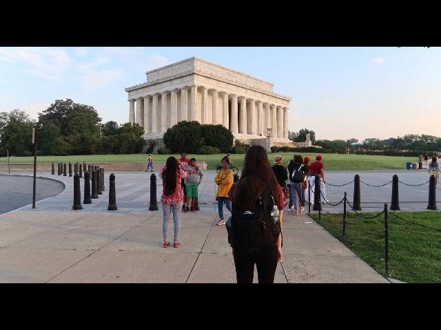 Washington- Lincoln Memorial