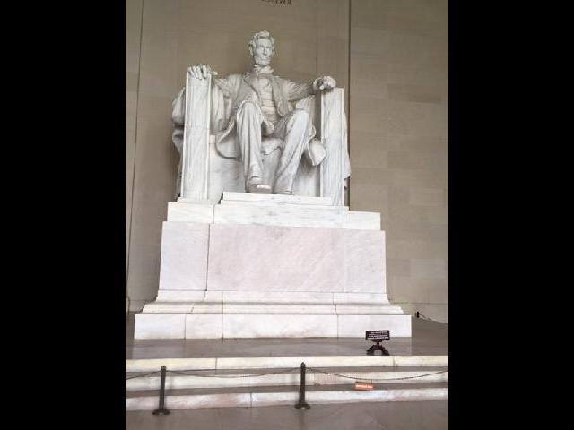 Lincoln Memorial (Interior)