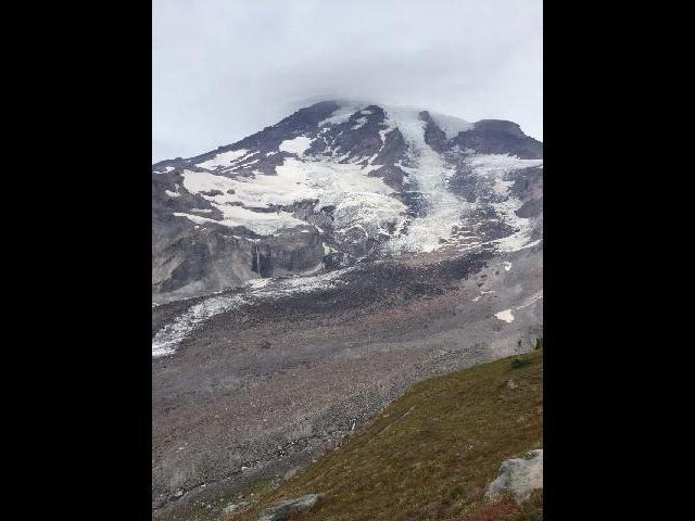 View from Glacier Vista Point